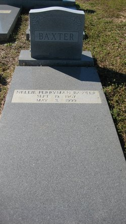 Nellie <i>Perryman</i> Baxter
