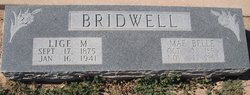 Lige M Bridwell