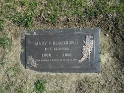 Mary F Blackburn