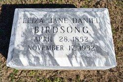 Eliza Jane <i>Daniel</i> Birdsong
