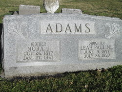Reah Pauline Adams