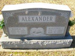 Marguerite <i>Cox</i> Alexander
