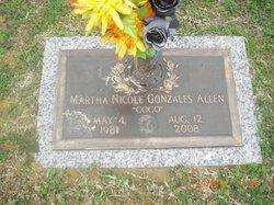 Martha Nicole Coco <i>Gonzales</i> Allen