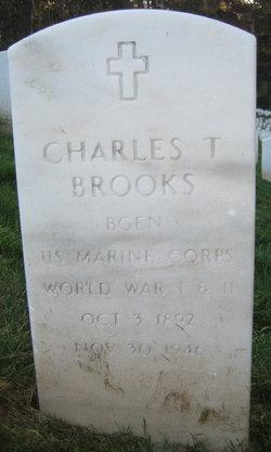 Gen Charles T Brooks