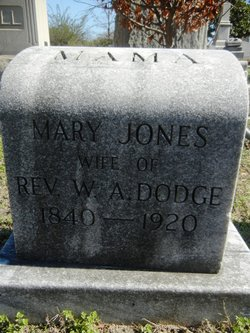 Mary Etta <i>Jones</i> Dodge