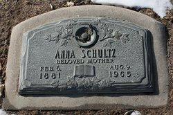 Anna <i>Schultz</i> Schultz