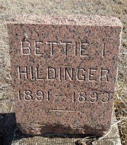 Bettie I Hildinger