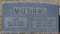 Mary Frances Frankie <i>Agee</i> Matthews