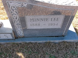 Minnie <i>Lee</i> Coats