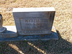 Myrtis L. <i>Holifield</i> Dees
