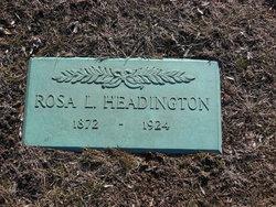 Rosetta Rosa <i>Lyon</i> Headington