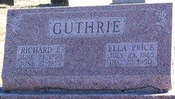 Ella <i>Price</i> Guthrie