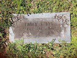 Emily <i>Faulk</i> Rye