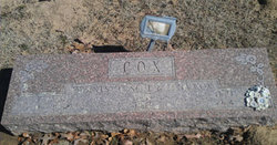 Infant Daughter Cox
