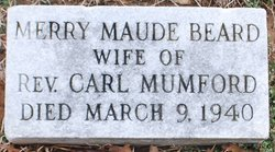 Mary Maude <i>Beard</i> Mumford