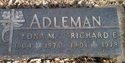 Edna Mary <i>Hanford</i> Adleman