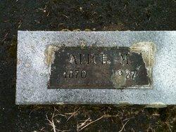 Alice M Churchill