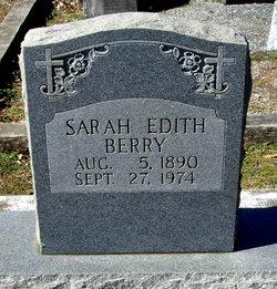 Sarah Edith Berry
