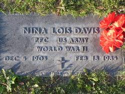 Nina Lois <i>Little</i> Davis