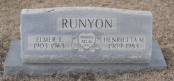 Henrietta M. <i>Lear</i> Runyon
