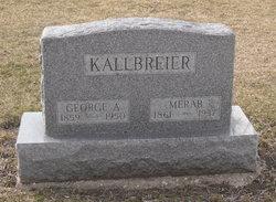 Merab <i>McDaniel</i> Kallbreier