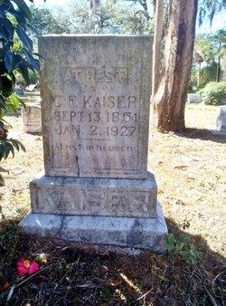 C. F. Kaiser