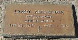 Leroy Alexander