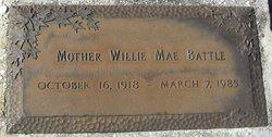 Mother Willie Mae Battle
