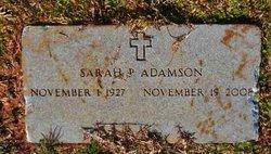 Sarah Pearl <i>Mitchell</i> Adamson