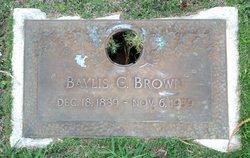 Baylis C Brown
