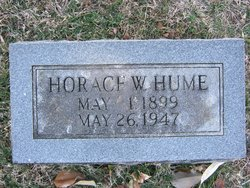 Horace Wendel Hume