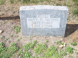 Mary Rebecca <i>Burns</i> Mathis