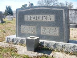 Bertha Bell <i>Ervin</i> Readling