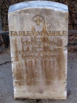 Pvt Farley Mindart Auble