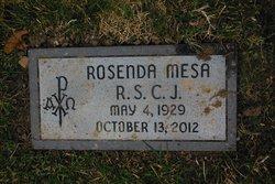 Sr Rosenda Mesa