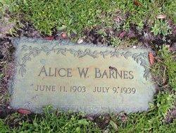 Alice <i>Winchell</i> Barnes