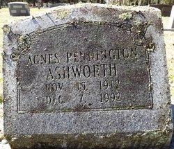 Agnes Grace <i>Pennington</i> Ashworth