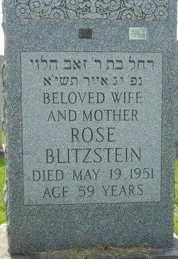 Rose <i>Sabroff</i> Blitzstein