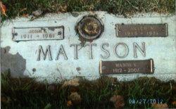 John Edward Marty Mattson