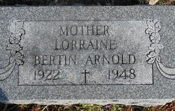 Lorraine <i>Bertin</i> Arnold