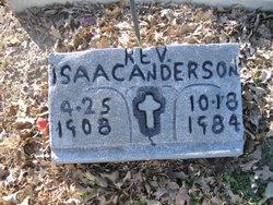 Rev Isaac Anderson