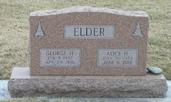 Alice H <i>Higgs</i> Elder