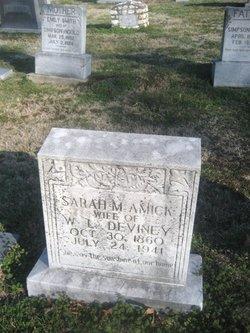 Sarah M. <i>Amick</i> Deviney