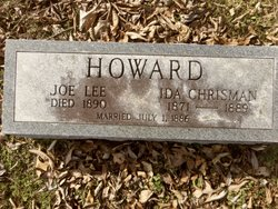 Ida M <i>Chrisman</i> Howard