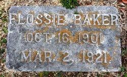 Flossie May Baker