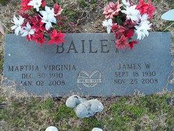 Martha Virginia <i>Stewart</i> Bailey