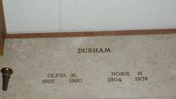Oleta Maude <i>Toon</i> Durham
