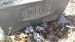 Martha Ellen <i>Vuncannon</i> Webb