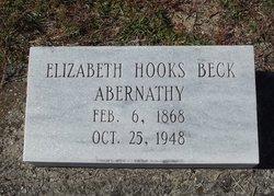 Elizabeth Hooks <i>Beck</i> Abernathy