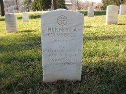 Herbert A Campbell